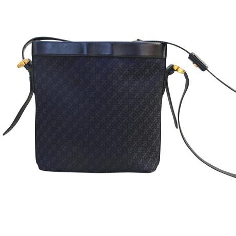 Loewe Vintage Umhängetasche Blau Spielraum Auf Dem Laufenden Offizielle Seite Verkauf Online v4AIVJ
