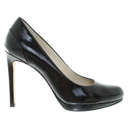 Michael Kors Lackleder-Pumps in Schwarz