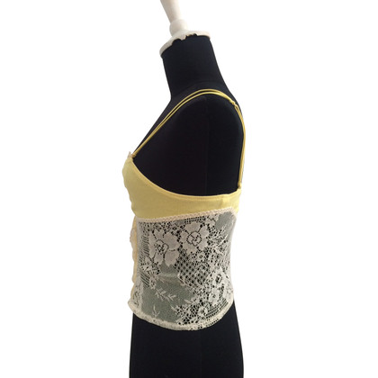 Armani Straps top with lace