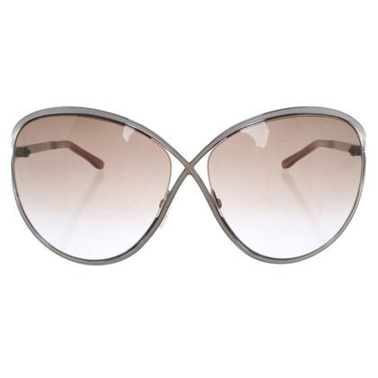 Tom Ford Occhiali da sole in rosa tenue