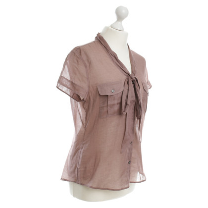 Burberry Blouse in powder pink