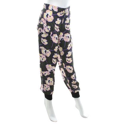 Marni Pantaloni con una stampa floreale