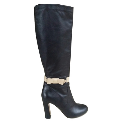 Red Valentino Bow Kneehigh boots