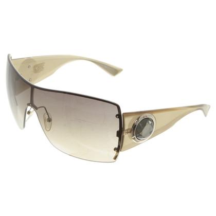 Armani Goudkleurige Mono Shade Sunglasses