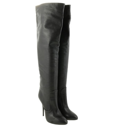 Giuseppe Zanotti Thigh high leather