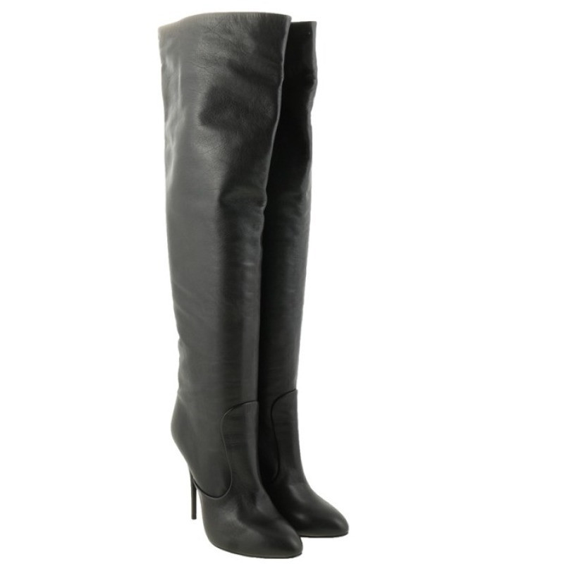 Giuseppe Zanotti Thigh high leather
