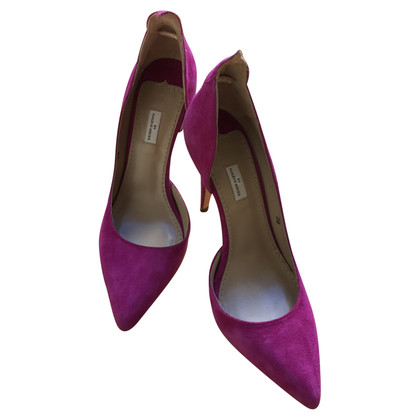 By Malene Birger Great suede pumps in fuchsia Gr. 38