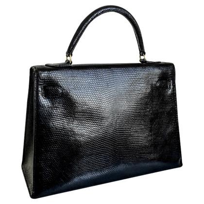 "Hermès ""Kelly Bag 32"" in pelle di lucertola"