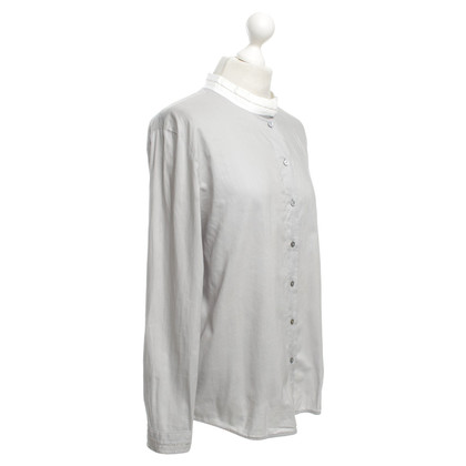 Van Laack Striped blouse in bicolor