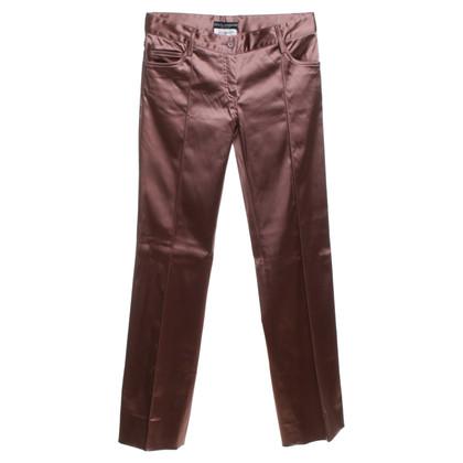 Dolce & Gabbana trousers with satin finish