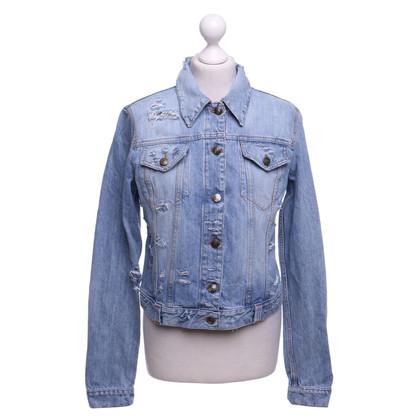 Just Cavalli Veste en jean en bleu clair