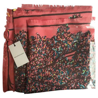 Balenciaga Multi-colored silk cloth
