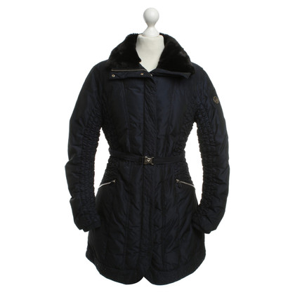 Armani Down coat with fur collar