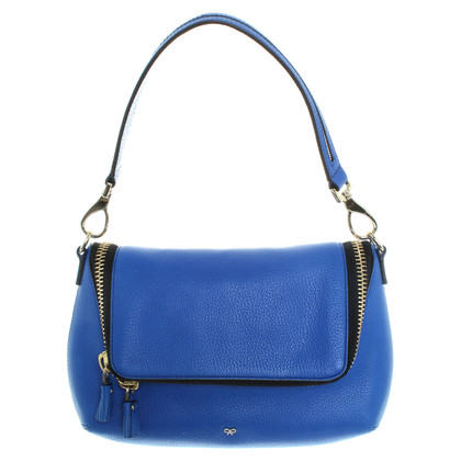 Anya Hindmarch Borsa in pelle blu