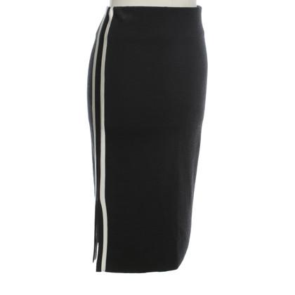 Ganni Jersey-rok in donkerblauw