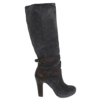 BCBG Max Azria Stivali di camoscio Taupe/marrone