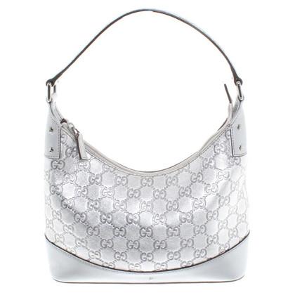 Gucci Silver colored handbag
