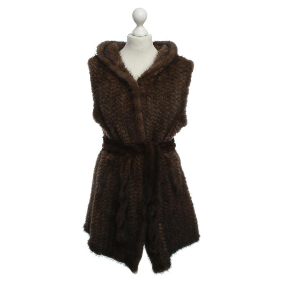 Other Designer Corty Bennett - mink fur vest