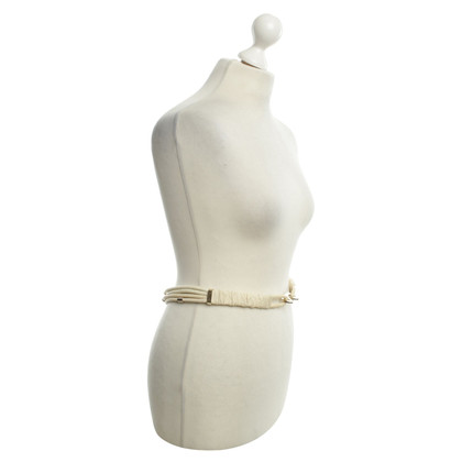 Donna Karan riem in Cream