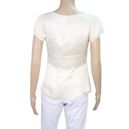 Hobbs Silk Top in Cream