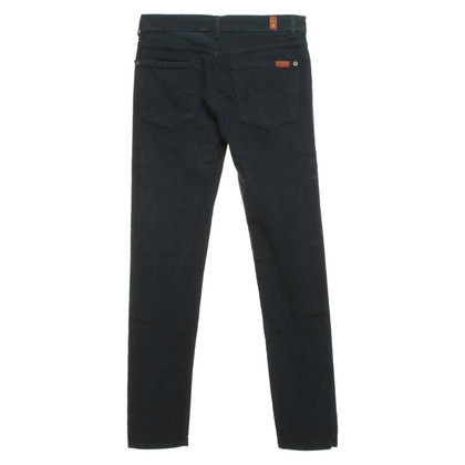 7 For All Mankind Cordhose in Petrol