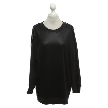All Saints Sweater met decoratieve kettingen