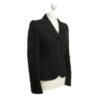 Escada Blazer met geweven patroon