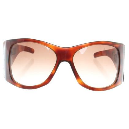 Pollini Sonnenbrille mit Bast-Einsätzen