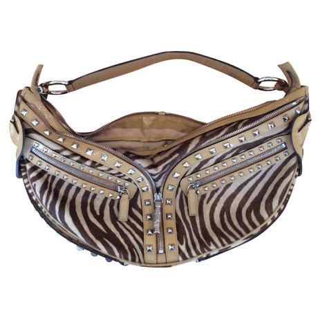 Versace Handtasche Bunt / Muster Billig Große Überraschung Online Einkaufen E7K9a