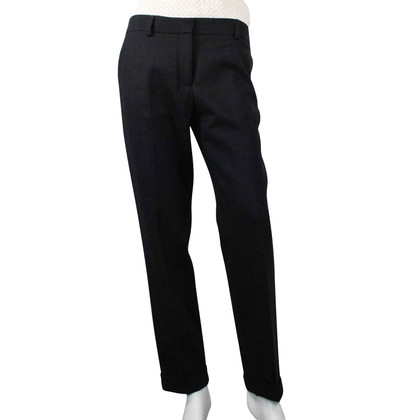 Etro Gray wool trousers