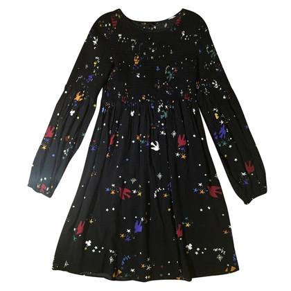 Maje Patroon jurk