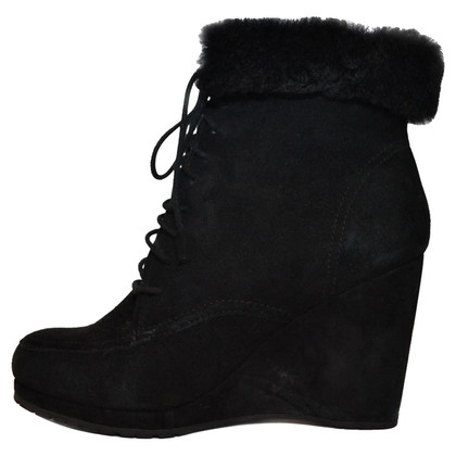 L.K. Bennett Lace Up Ankle Boot