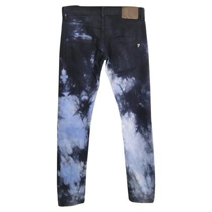Dondup Jeans im Batik-Look