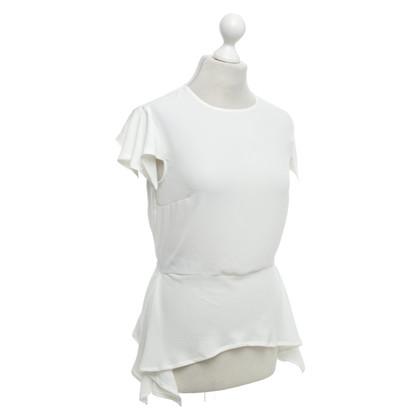 Elisabetta Franchi top in white