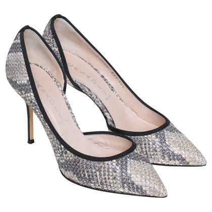 Casadei Pumps mit Animal-Print