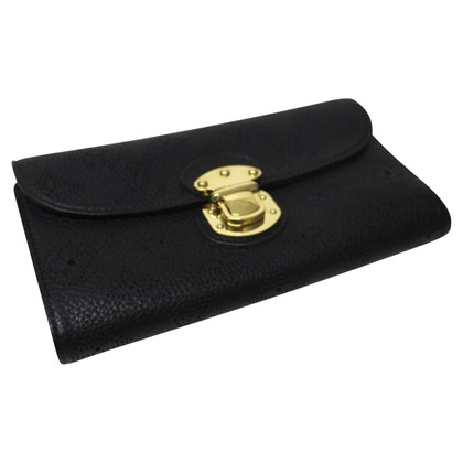 Louis Vuitton Portemonnaie aus Monogram Mahina Leder