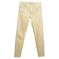 7 For All Mankind Jeans in het geel