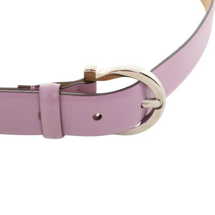Salvatore Ferragamo Cintura in rosa scuro