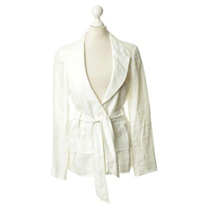 Aigner Witte linnen Blazer