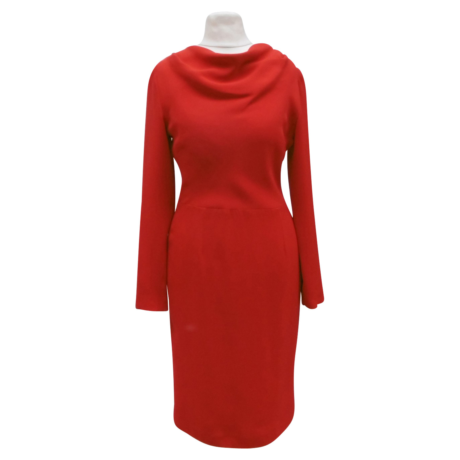 Christian Dior Rotes Kleid - Second Hand Christian Dior Rotes