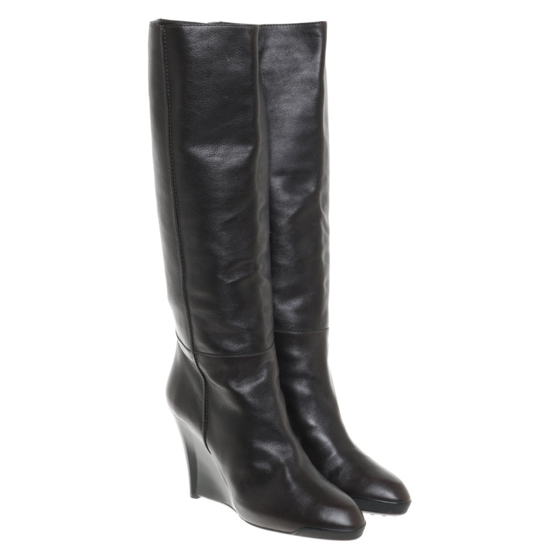 Tod's Leather boots - Second Hand Tod's