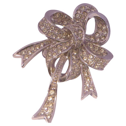 Christian Dior Bow Broche