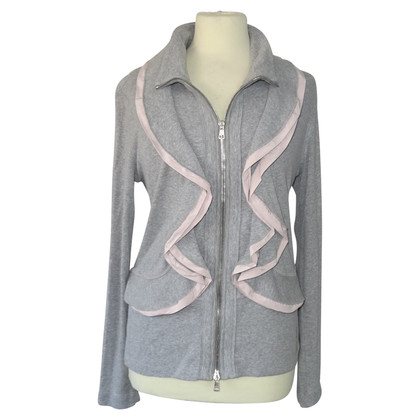 Marc Cain Jersey-Jacket in Gray