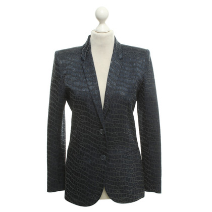Barbara Bui Blazer in reptile look