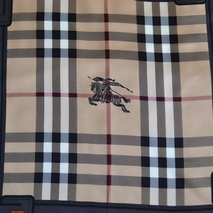Burberry Silk scarf with Nova check pattern