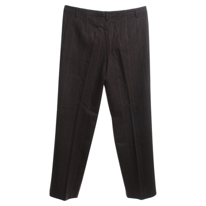 Gunex Wool trousers in brown