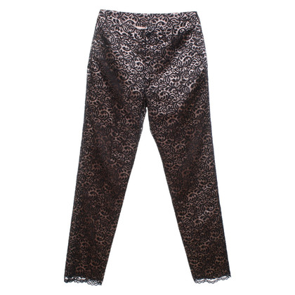 DKNY trousers made of lace