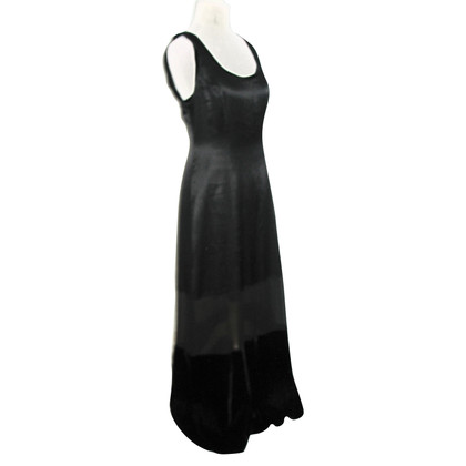 Alberta Ferretti Silk and velvet dress