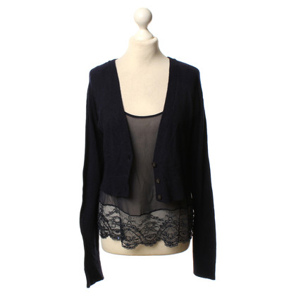 Twin-Set Simona Barbieri Strickjacke in Blau