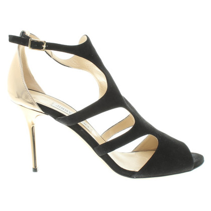 Jimmy Choo Suede pumps in zwart